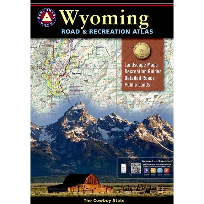 Benchmark Road & Recreation Atlas Wyoming