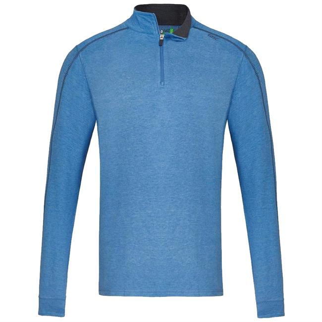 Men's Core 1/4 Zip Heathered Long Sleeve
